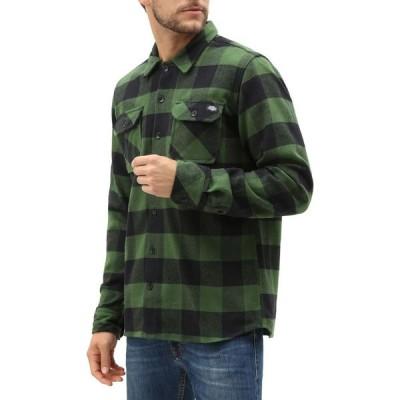 ディッキーズ Dickies メンズ シャツ トップス Sacramento Relaxed Shirt Pine/Green