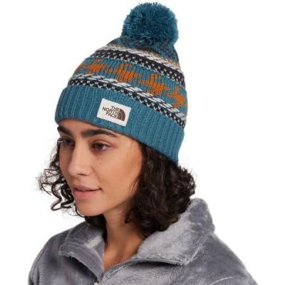 ノースフェイス 帽子 アクセサリー レディース The North Face Women's Fair Isle Beanie MallardBlue/TimberTan