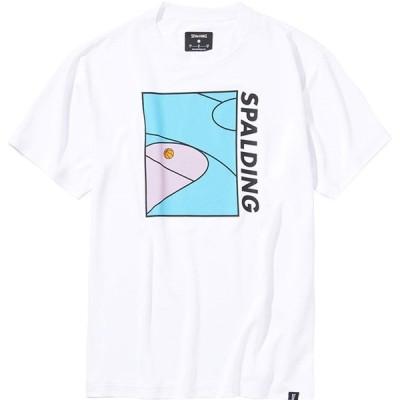 Tシャツ - プレイグラウンド spalding スポルディング バスケットハンソデTシャツ (smt201270-2000)