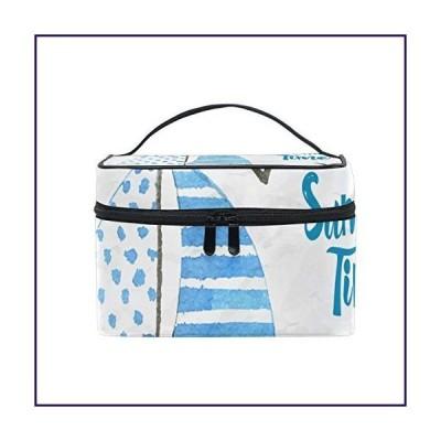 Makeup Bag Sailing On The Sea Ocean Cosmetic Portable Storage Bag【並行輸入品】