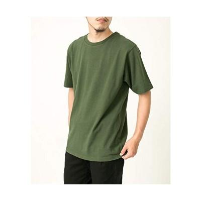 [エカル] tシャツ EKAL バックプリントTシャツ メンズ FE95-11U002 グリーン S