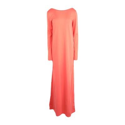 DOUUOD ロングワンピース&ドレス コーラル XS コットン 100% ロングワンピース&ドレス