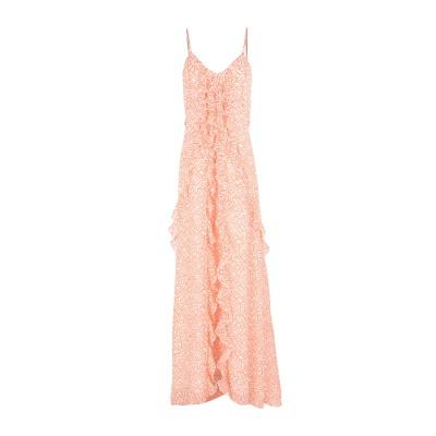 パトリティア ペペ セーラ PATRIZIA PEPE SERA ロングワンピース&ドレス オレンジ 44 シルク 100% ロングワンピース&ドレス