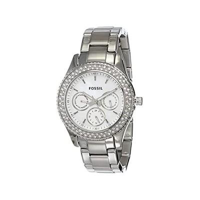 【新品未使用品】Fossil Women's Stella Stainless Steel Quartz Casual Watch (Model: ES2860)【並行輸入品】