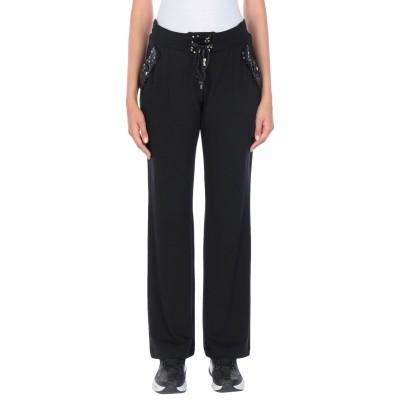 CLIPS MORE パンツ ブラック 48 レーヨン 67% / ウール 29% / ポリウレタン 4% パンツ