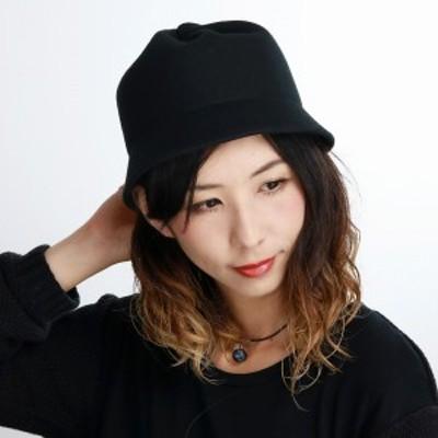 クロッシェ ハット レディース 帽子 日本製 シンプル 無地 Mazurek 秋冬 ミセスハット ウール マ