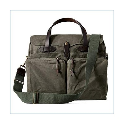 Filson 24 Hour Tin Briefcase Otter Green One Size並行輸入品