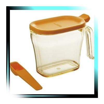 スリム/イエロー 調味料入れ 砂糖 塩 イエロー 440ml リベラタ