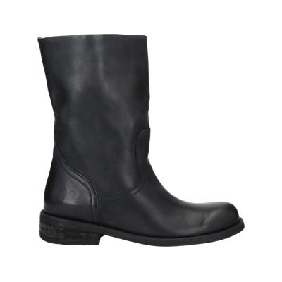FELMINI ショートブーツ ブラック 36 革 ショートブーツ