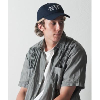 Ray's Store / Code Kelly × newhattan / NYC Emb 6Panel Cap / NYC刺繍キャップ : ニューハッタン MEN 帽子 > キャップ