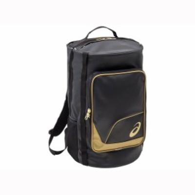 〈ゴールドステージ〉 ドラムバッグパック ASICS(アシックス) 野球 バッグ ケース (3123A454)