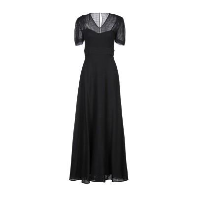 NOON BY NOOR ロングワンピース&ドレス ブラック 6 ウール 100% ロングワンピース&ドレス