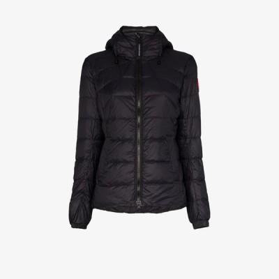 カナダグース Canada Goose レディース ダウン・中綿ジャケット アウター Abbott puffer coat black