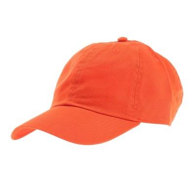 ニューハッタン雑貨ベース ロー キャップ ツイル 1414 orange 4589682787141