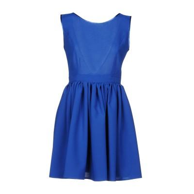 FRANCESCA & VERONICA FELEPPA ミニワンピース&ドレス ブルー 42 コットン 50% / ポリエステル 50% ミニワン