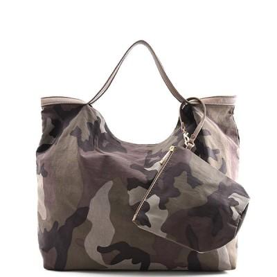 【送料無料】トートバッグ レディース A4 大きめ 通勤 通学 カモフラージュ 迷彩 肩掛け シンプル 鞄 レザー かわいい おしゃれ 収納力 大容量 きれいめ