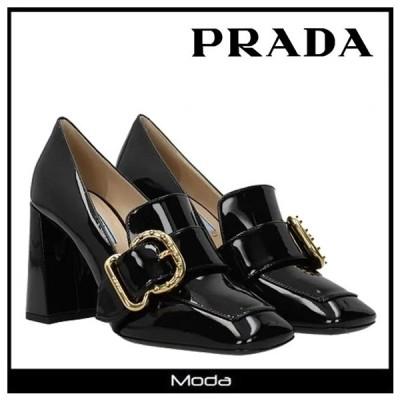 PRADA プラダ ベルトディテール ハイヒール パンプス レディース
