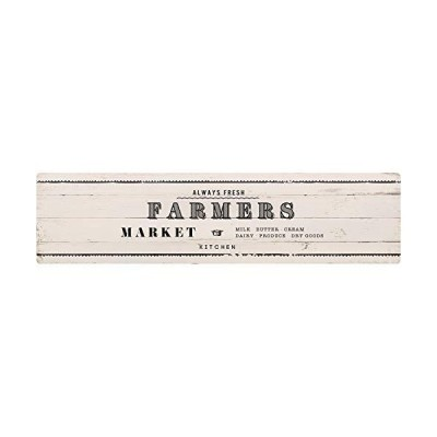 ベストコ キッチンマット ファーマーズマーケット ホワイト 45×180cm さらっと拭ける ぷにぷに触感 ND-9864