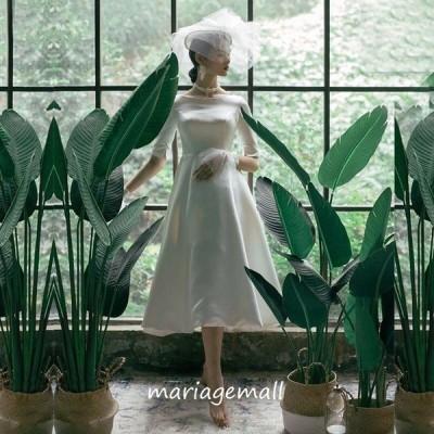 ウェディングドレス 白 Aライン 二次会 花嫁 大きいサイズ 海外挙式 パーティードレス 披露宴 ブライダル 結婚式 ロングドレス 演奏会