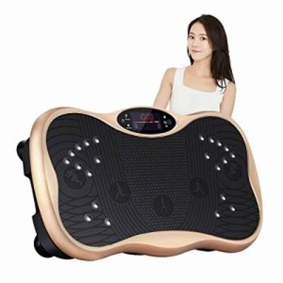 振動マシン フィットネスマシン ぶるぶるマシン シェイカー式 振動調節99段階 磁石足マッサージ 筋力トレーニング Bluetooth 音楽プレイ