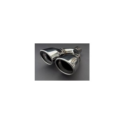 【エルフォード】ラングラー JL アンリミテッド ウルトラパフォーマンスマフラー交換用テールピース タイプWテール