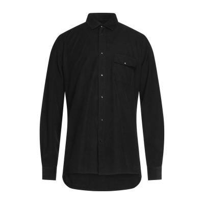 LIU •JO MAN シャツ ブラック 39 コットン 100% シャツ