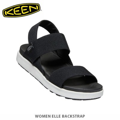 KEEN キーン サンダル レディース エル バックストラップ WOMEN ELLE BACKSTRAP 1022620 Black KEE02651022620 国内正規品