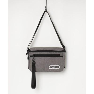 A BAG OF CHIPS / OUTDOOR PRODUCTS/アウトドアプロダクツ チャーム付 ヘザーテクス ミドルショルダーバッグ MEN バッグ > ショルダーバッグ
