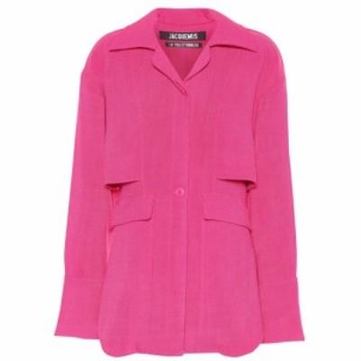ジャックムス Jacquemus レディース ブラウス・シャツ トップス La Chemise Monceau shirt Pink