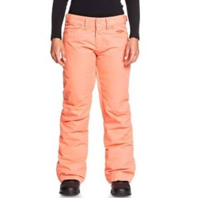ロキシー レディース カジュアルパンツ ボトムス Roxy Women's Backyard Snow Pants Fusion Coral