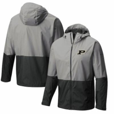 Columbia コロンビア スポーツ用品  Columbia Purdue Boilermakers Gray Collegiate Roan Mountain Jacket