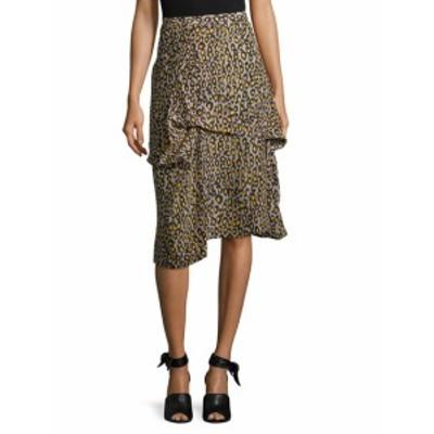 デレクラム レディース スカート Asymmetric Drape Skirt