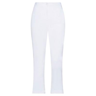 アレッサンドロデラクア ALESSANDRO DELL'ACQUA パンツ ホワイト 46 レーヨン 60% / リネン 40% パンツ