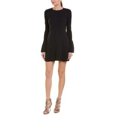 エーエルシー レディース ワンピース トップス A.L.C. Alexa Silk A-Line Dress midnight