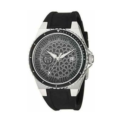 テクノマリーン 腕時計 Technomarine メンズ TM-318052 Easycell Technocell クォーツ Black Dial Watch