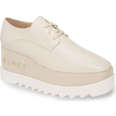 ステラ マッカートニー STELLA MCCARTNEY レディース スニーカー ウェッジソール シューズ・靴 Embellished Platform Wedge Sneaker Milky