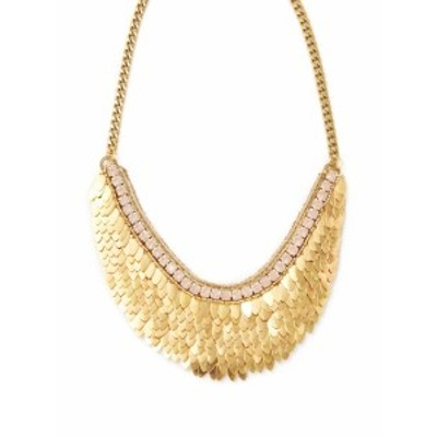 ディーパガルナニ レディース ネックレス Feather & Crystal Statement Necklace
