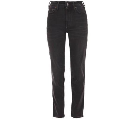アクネ ストゥディオズ ACNE STUDIOS レディース ジーンズ・デニム ボトムス・パンツ south mid-rise slim-leg jeans Charcoal
