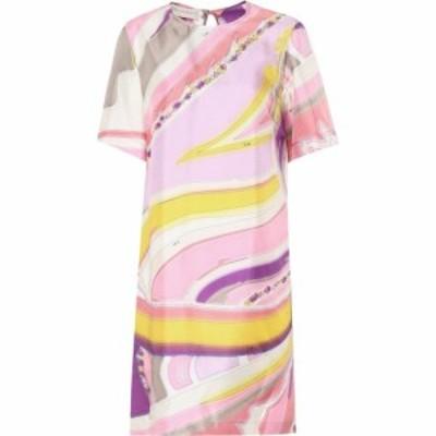 エミリオ プッチ Emilio Pucci レディース ワンピース ワンピース・ドレス Printed silk dress Pink