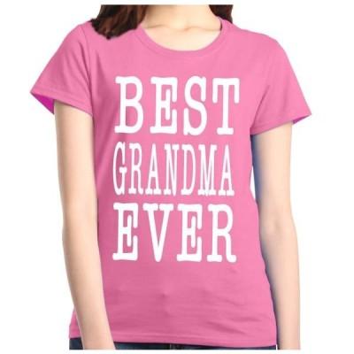 レディース 衣類 トップス Shop4Ever Women's Best Grandma Ever Grandparent Graphic T-Shirt Tシャツ