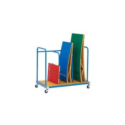 【法人限定】 踏切板 収納 キャリー 体育用品 踏切板運搬車120-5 T-1765 特殊送料【ランク:11】 【TOL】(QCB43)