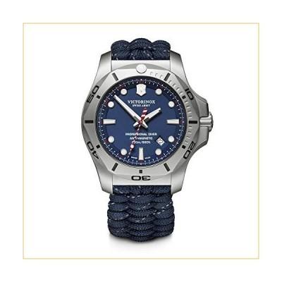 ビクトリノックス 腕時計 Victorinox I.N.O.X. Analog Quartz Watch with Titanium Strap, Blue, 22 (Model: 241843) 並行輸入品