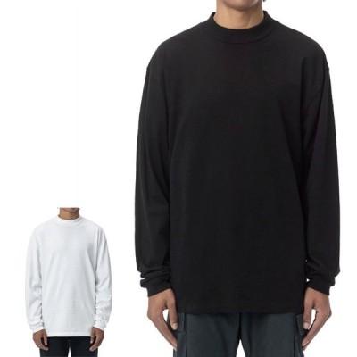 JOHN ELLIOTT ジョンエリオット オーバーサイズ モックネック ロンT 900 LS MOCK TEE 3220900202 長袖Tシャツ メンズ