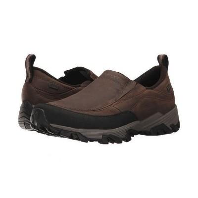 Merrell メレル メンズ 男性用 シューズ 靴 ローファー Coldpack Ice+ Moc Waterproof - Brown