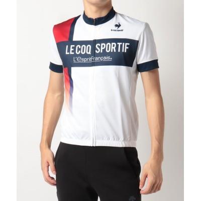 (le coq sportif/ルコックスポルティフ)【サイクリング】ショートスリーブジャージ【Entry】/メンズ ホワイト