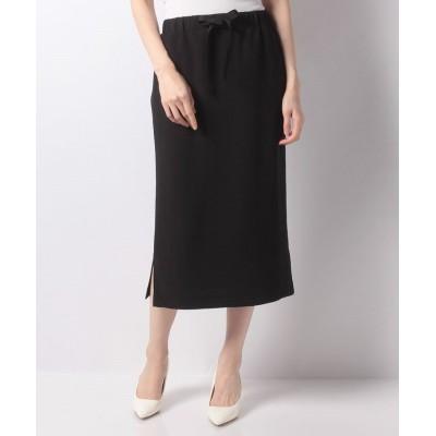 【レリアン】 イージータイトスカート レディース ブラック 9 Leilian