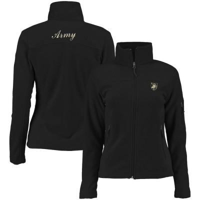 コロンビア ジャケット・ブルゾン アウター レディース Army Black Knights Columbia Women's Give & Go Full-Zip Jacket Black