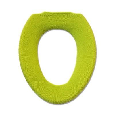 オカ 便座カバー フレッシュデオ O型専用便座カバー グリーン 抗菌 防臭