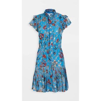 デレク ラム Derek Lam 10 Crosby レディース ワンピース ワンピース・ドレス Edith Ruffle Hem Dress Pale Blue