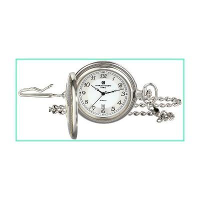 Charles-Hubert, Paris 3554 Two-Tone Quartz Pocket Watch並行輸入品